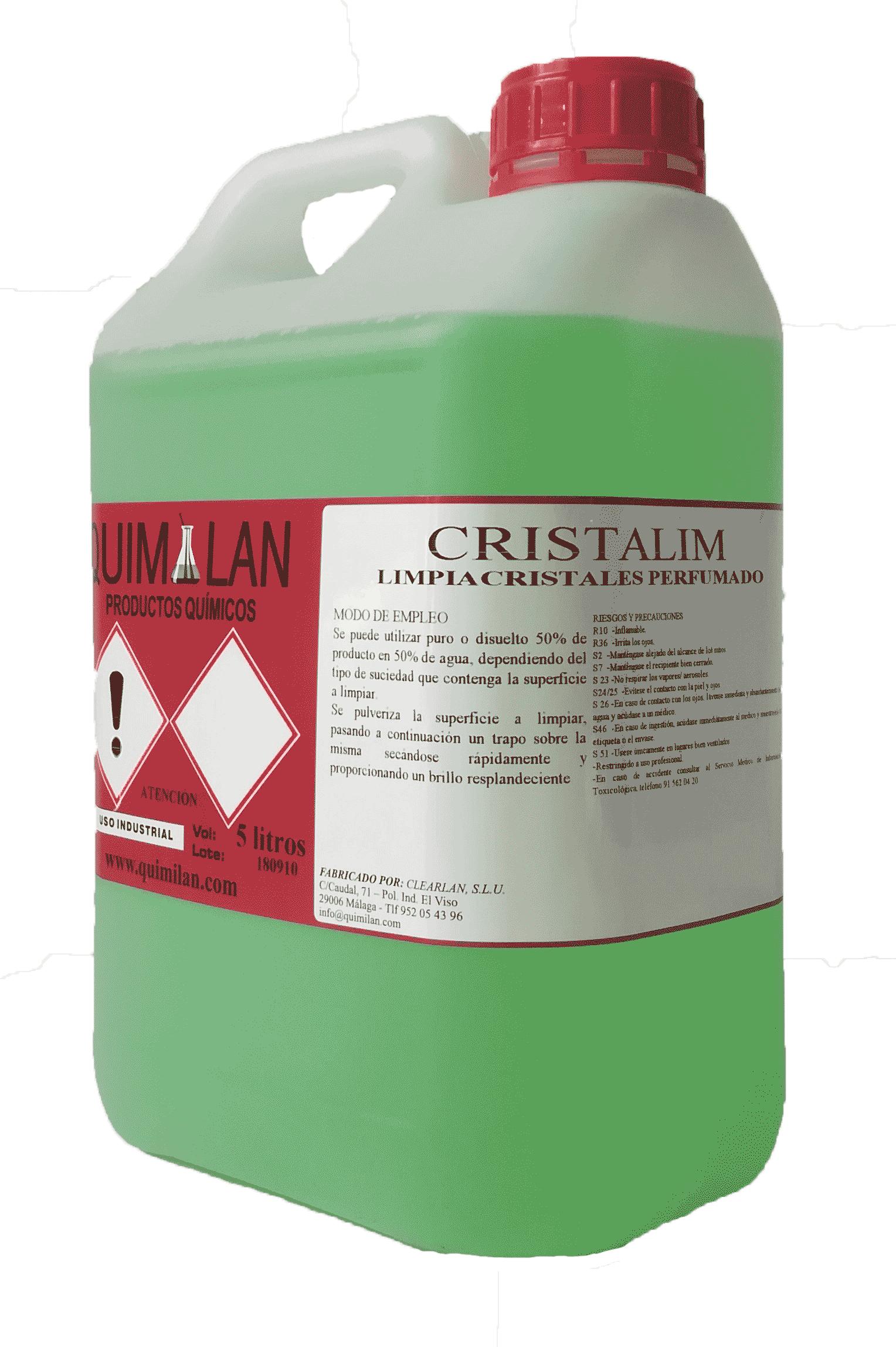 Cristalim Productos Quimicos industriales Quimilan en Malaga