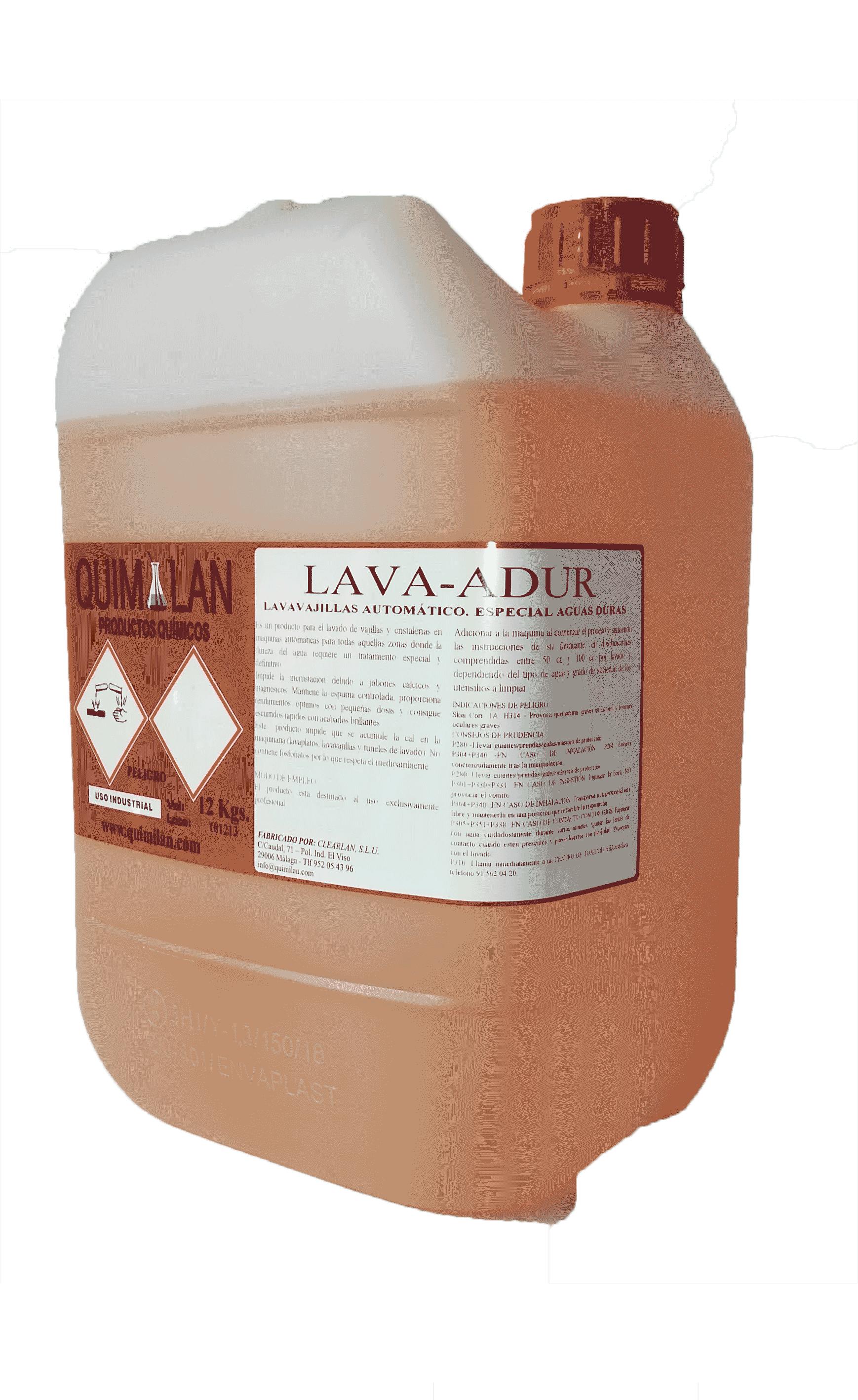 Productos Quimicos Industriales en Malaga Lava Adur Quimilan