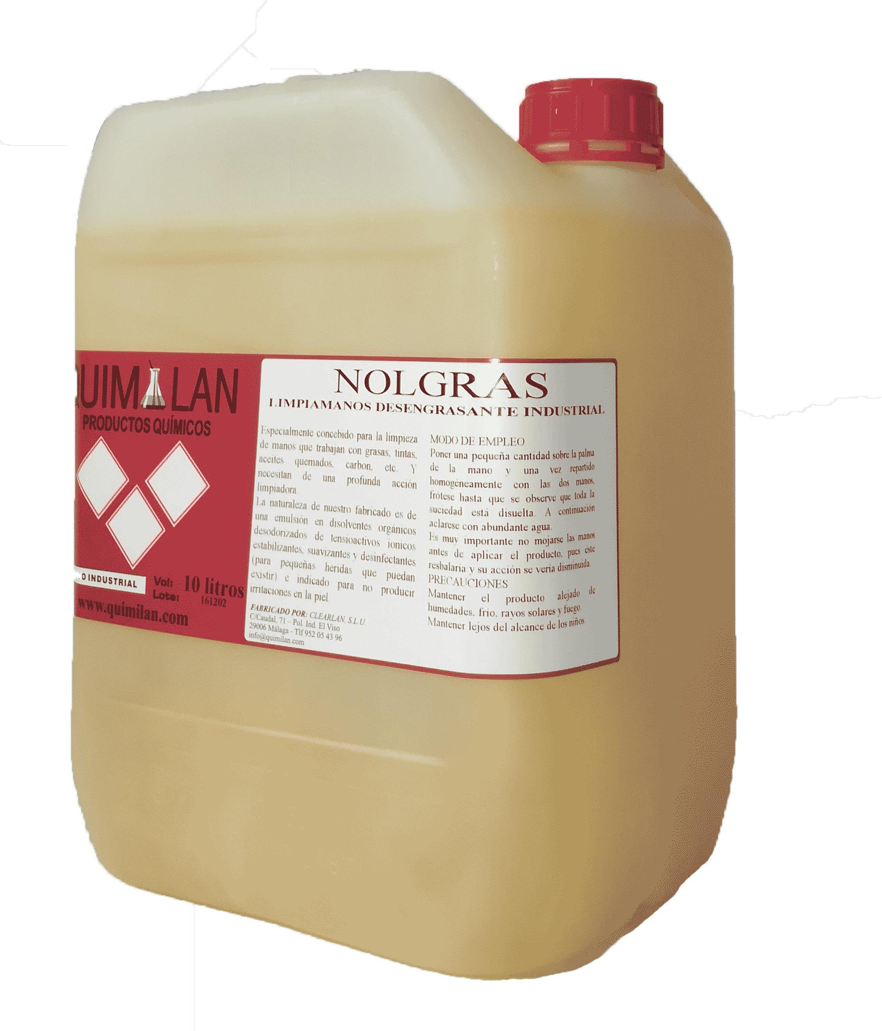 Productos Quimicos Industriales ne Malaga Nolgras Quimilan