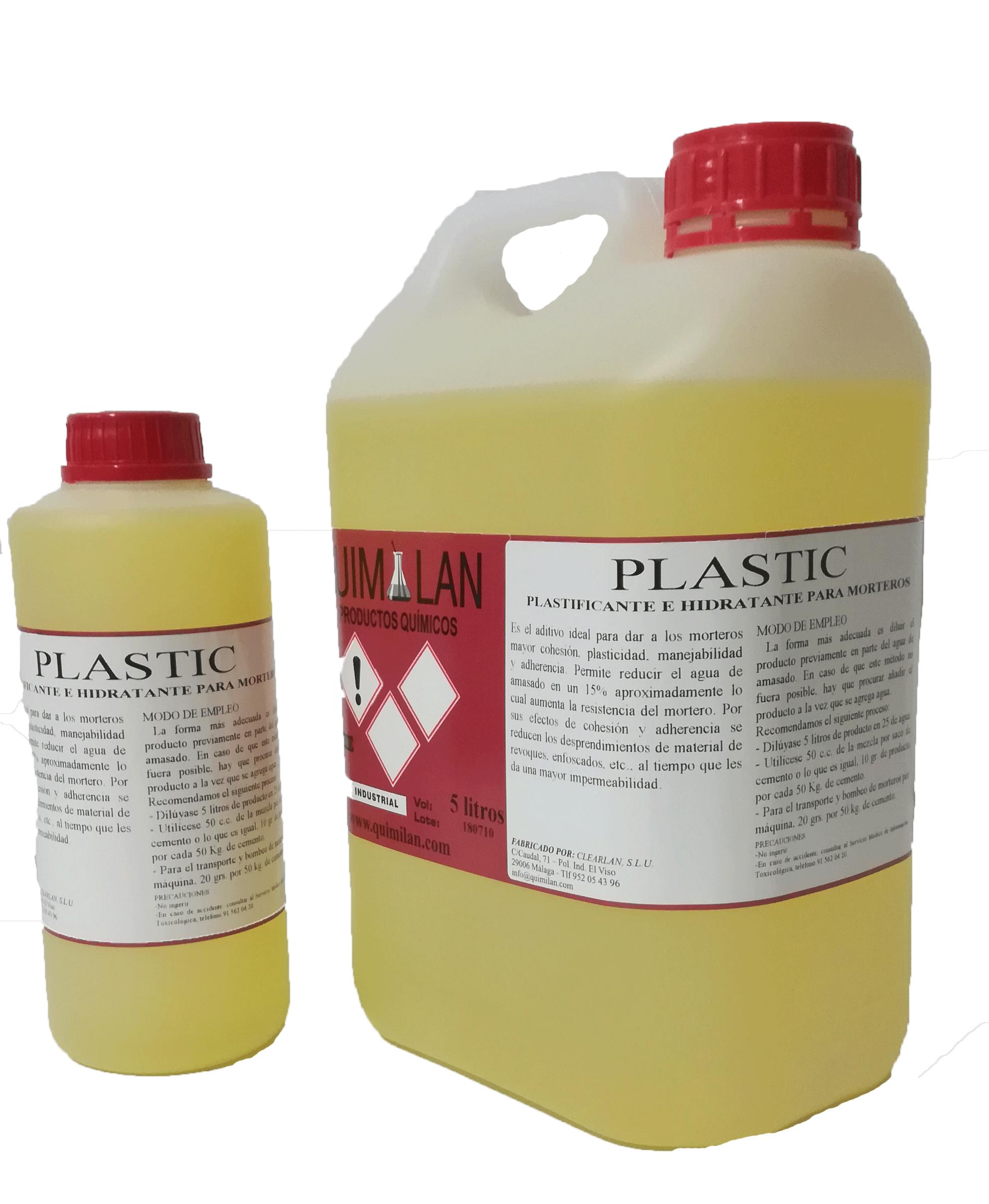 Productos quimicos industriales Plastic Quimilan en Malaga