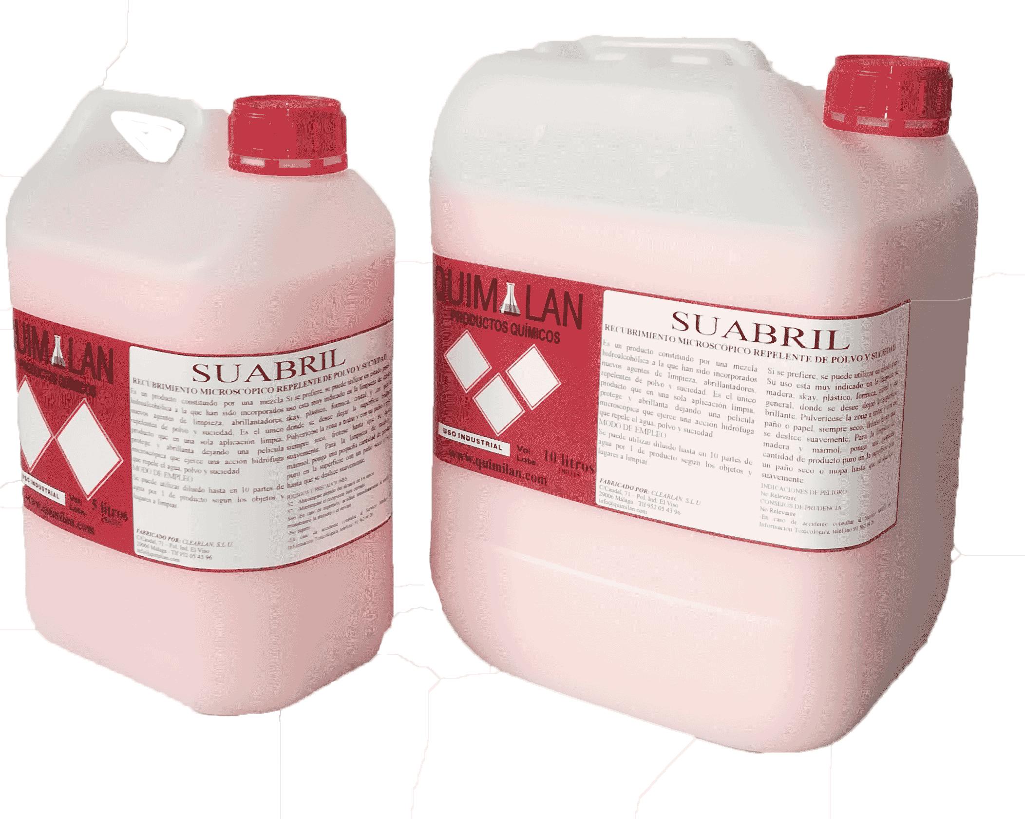 Productos Quimicos Industriales Suabril Quimilan en Malaga