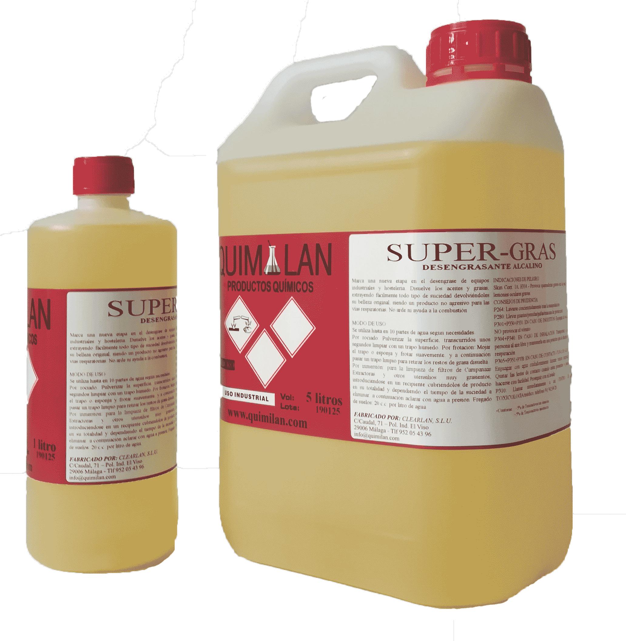 Productos Quimicos Industriales Super Gras Quimilan