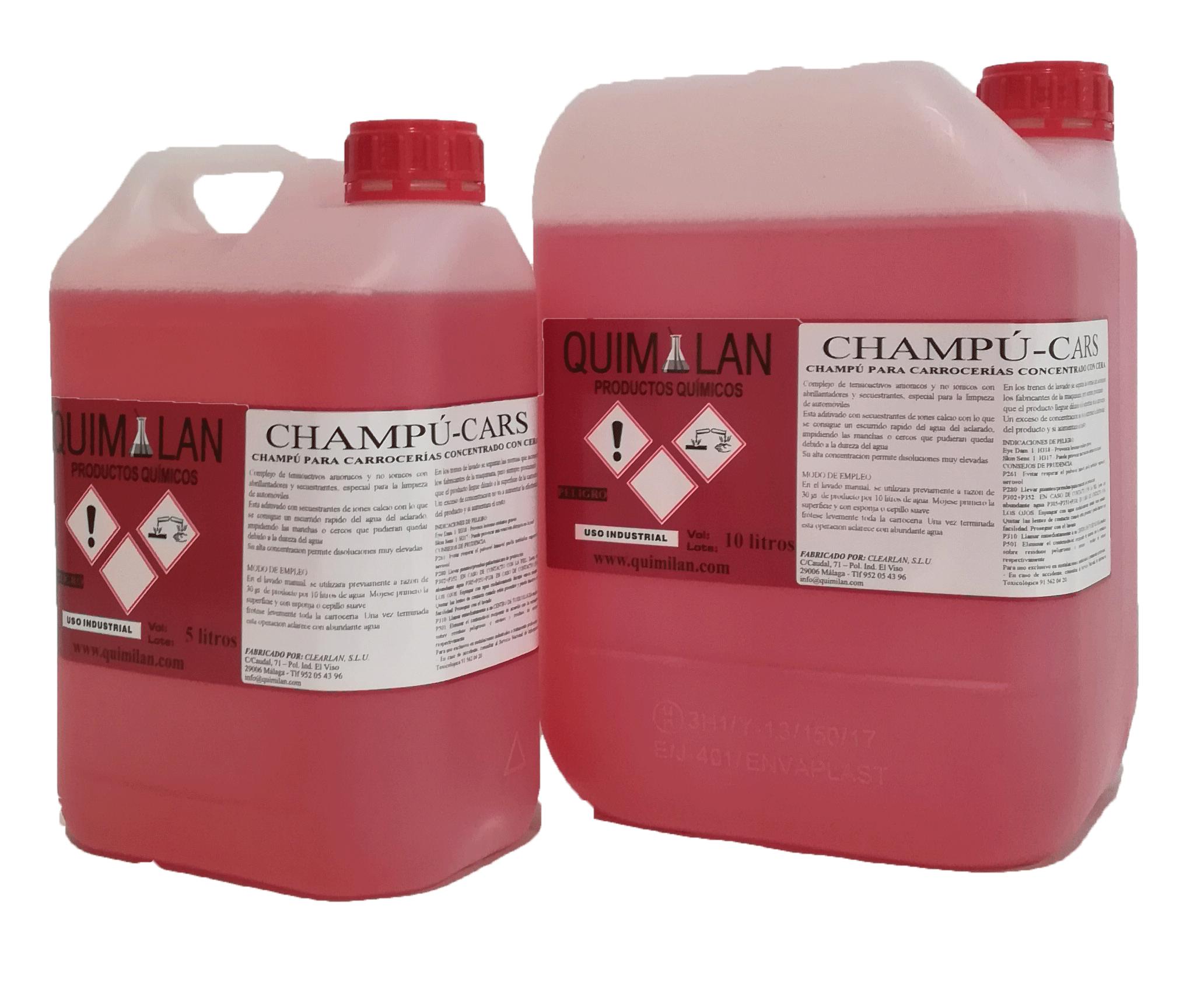 Limpieza Productos Quimicos Quimilan Champucars en Malaga