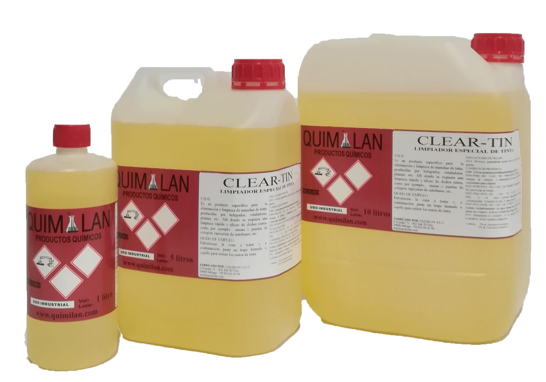 Limpieza Productos Quimicos Quimilan Cleartin en Malaga