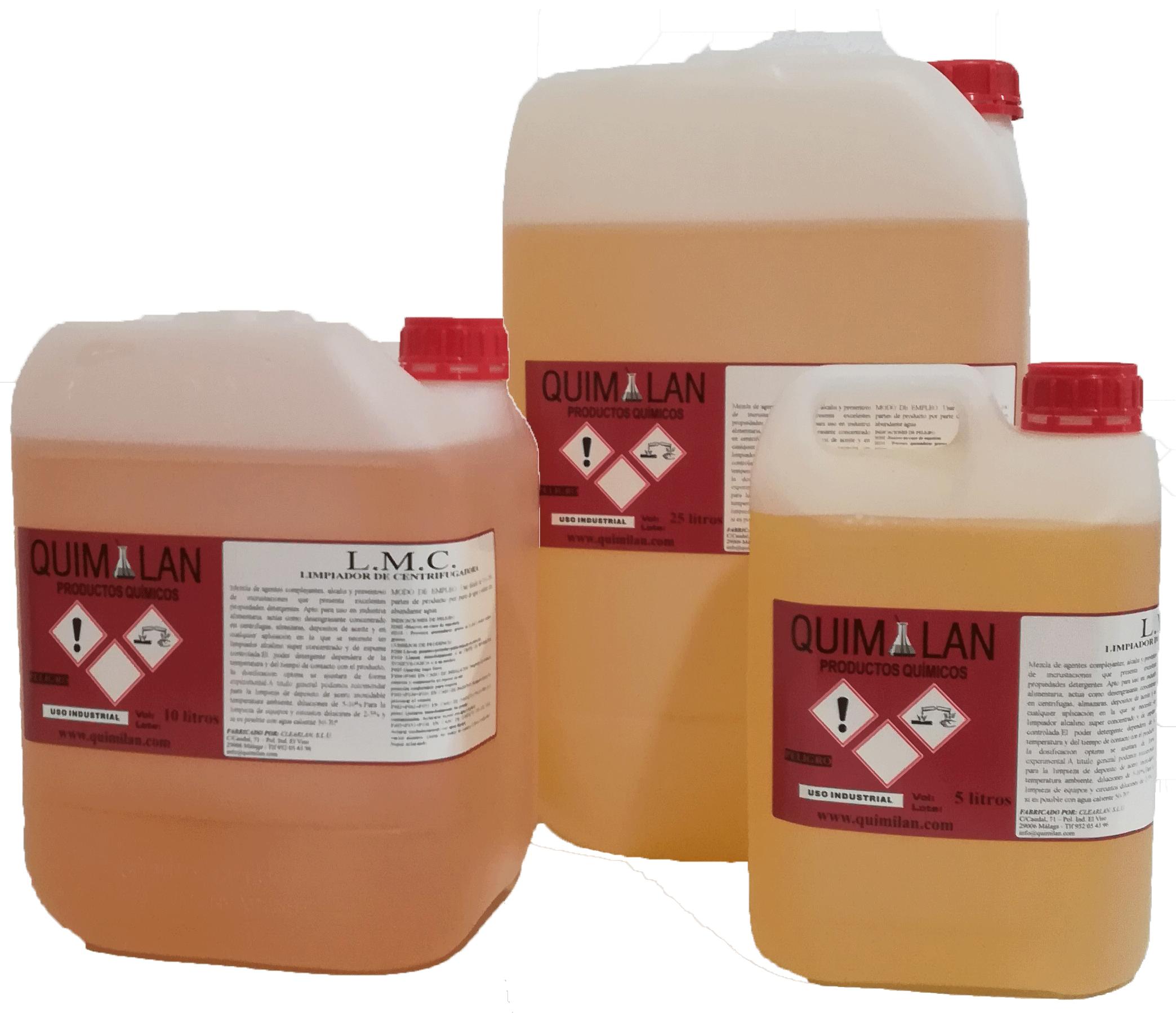 Productos Quimicos Limpieza LMC Quimilan en Malaga