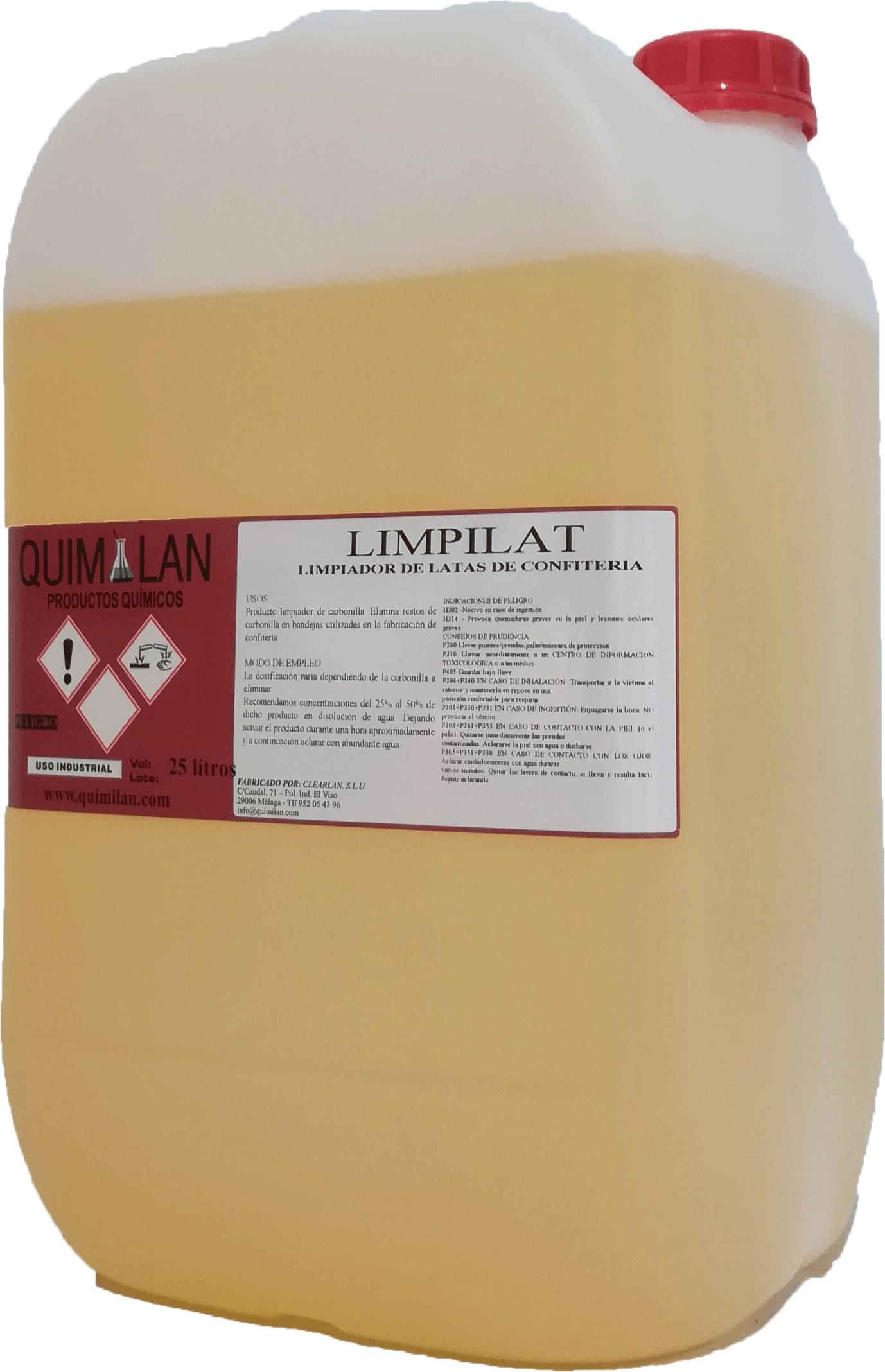 Productos Quimicos Limpieza Limpilat Quimilan en Malaga
