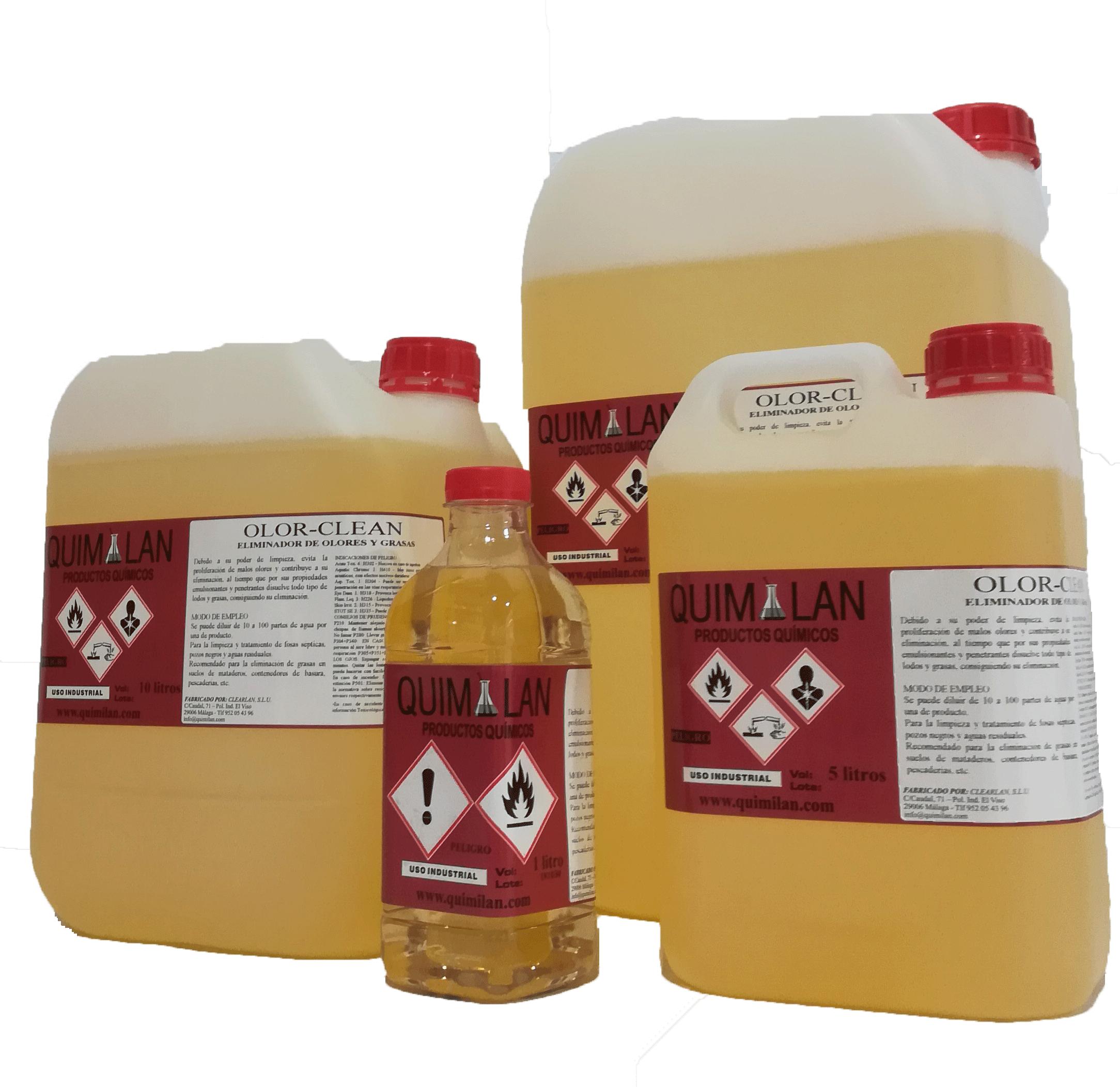 Productos Quimicos Limpieza Olorclean Quimilan en Malaga