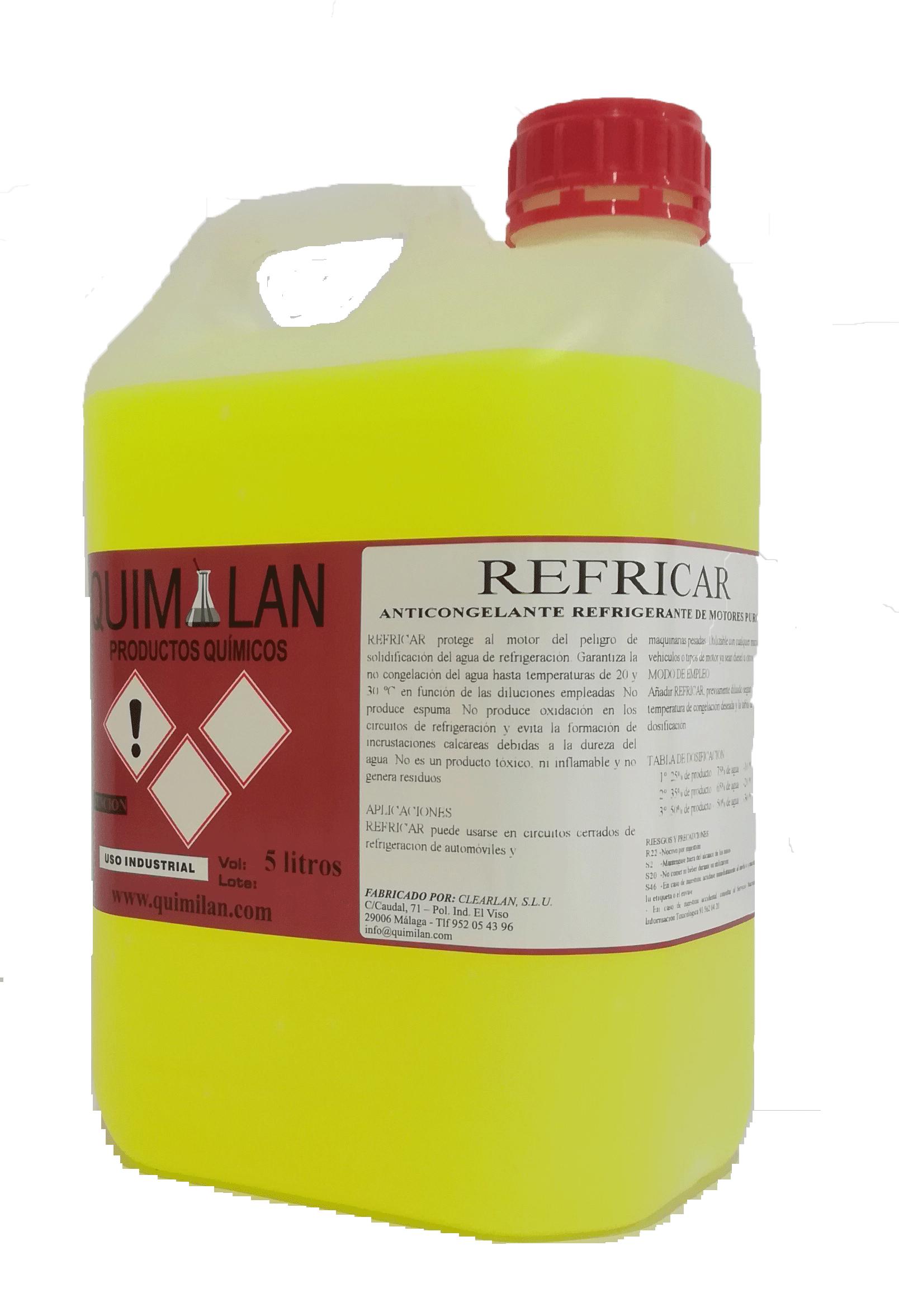 Productos Quimicos Limpieza Refricar Quimilan en Malaga