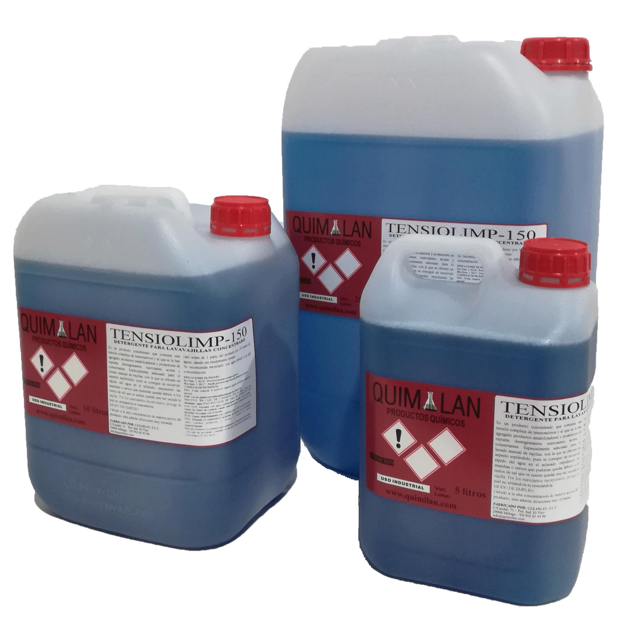 Productos Quimicos Limpieza Tensiolimp Quimilan en Malaga